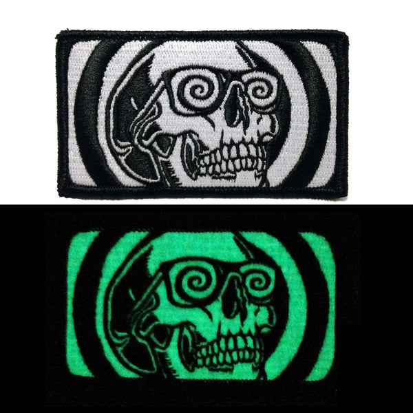 """Death Trip"" Glowing Embroidered Patch"