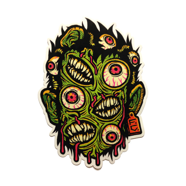 """Mutant Mashup"" 5-Inch Vinyl Sticker"