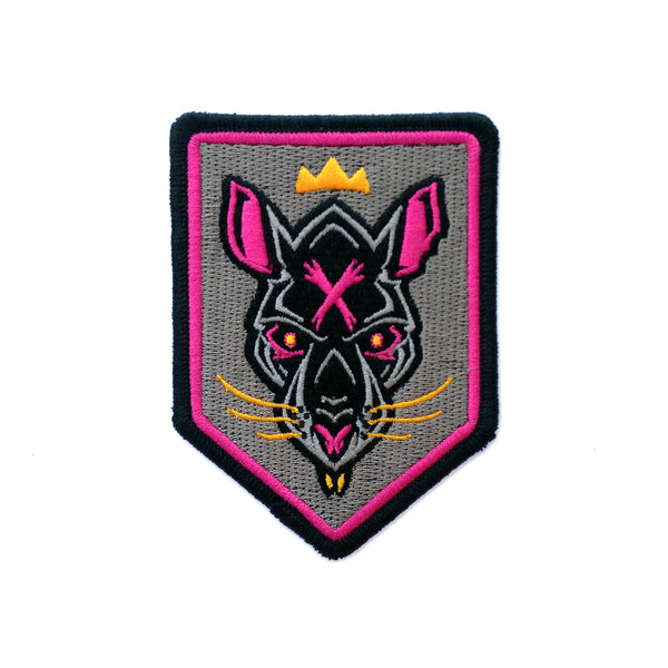 """Rat King"" Embroidered Patch"