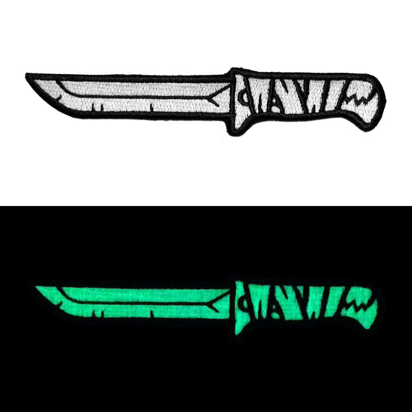 """Stabber"" Glowing Embroidered Patch"