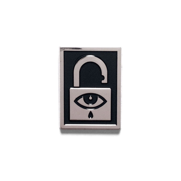 """Unlocked"" Enamel Pin"
