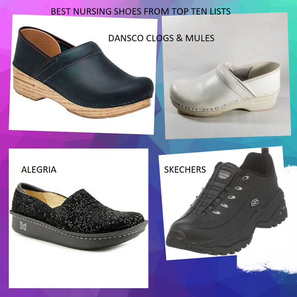 HOW WORK SHOES FOR WOMEN AND NURSING SHOES ARE THE BEST WALKING SHOES!