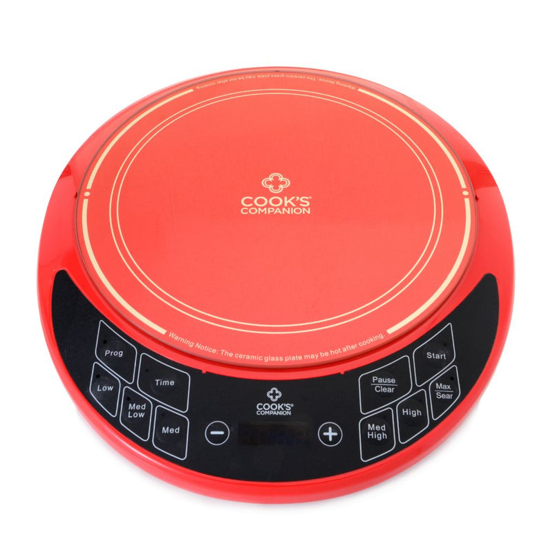 "Cook's Companion® 1800W 15.5"" Temperature Adjust Induction Burner"