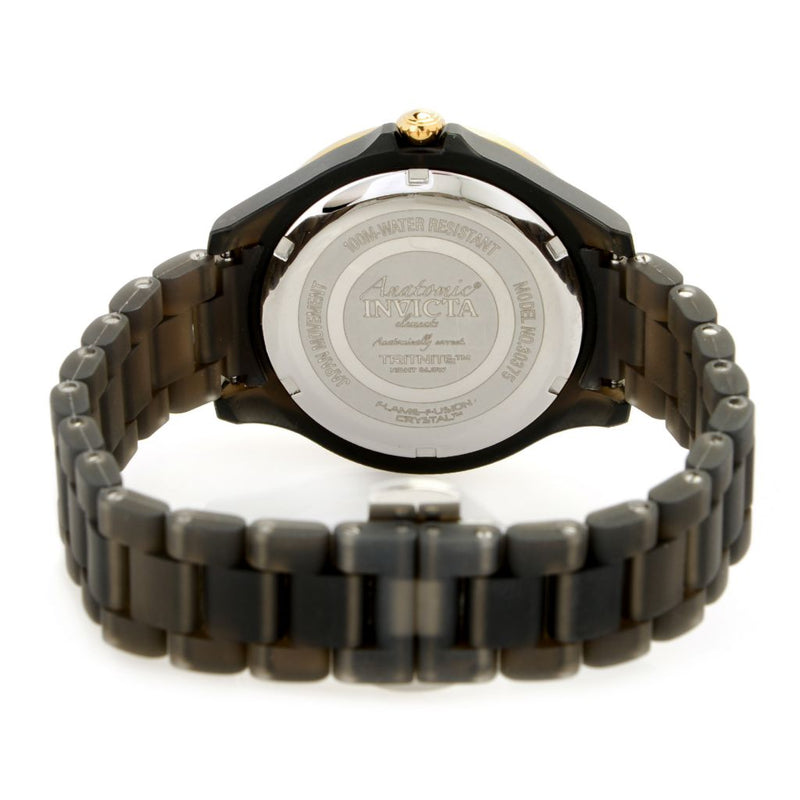 Invicta Women's Anatomic Quartz Multi Function Mother-of-Pearl Bracelet Watch
