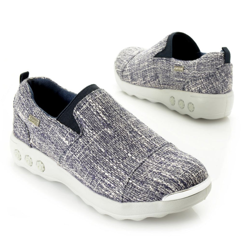 "Therafit ""Selena Lite"" Fabric Gored Slip-on Shoes"