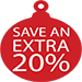 Save an extra 20% on Citizen Watches