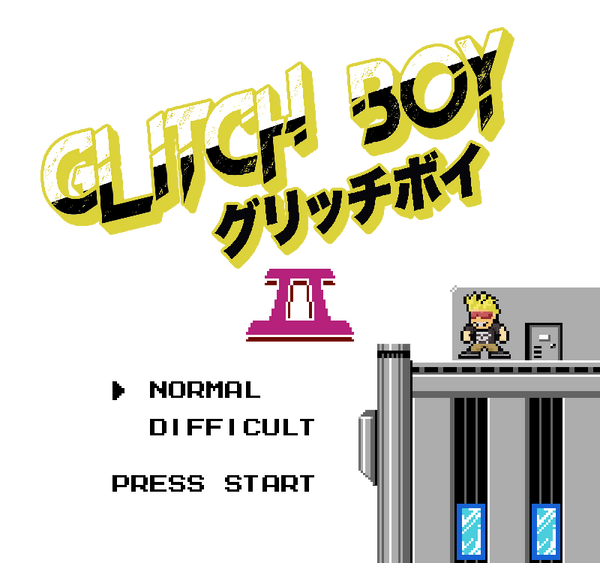 Mega Man 2 rom hack featuring Glitch Boy.  Play as Glitch Boy in the classic Mega Man game by Capcom