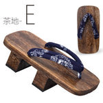 Load image into Gallery viewer, Traditional Japanese Wooden Geta