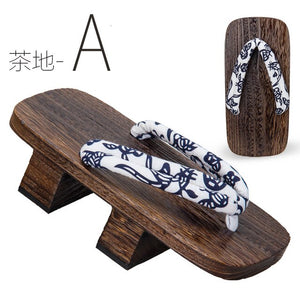 Traditional Japanese Wooden Geta