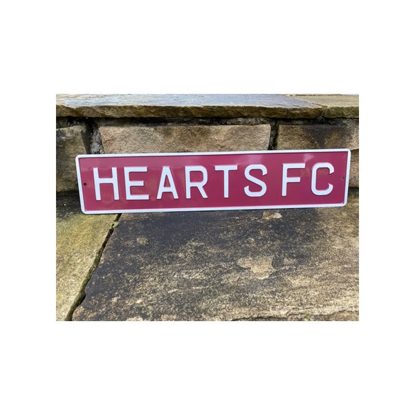 Metal Signs (Football) - Hearts