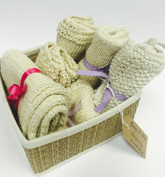Eco-friendly Hand Knitted Cloth Bundle