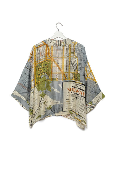 Kimono New York City Grey
