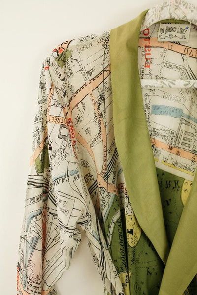 Dressing Gown London Map