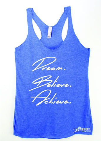 Fitspiration Gym Tank Tops