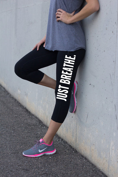 Just Breathe Yoga Pants for Women