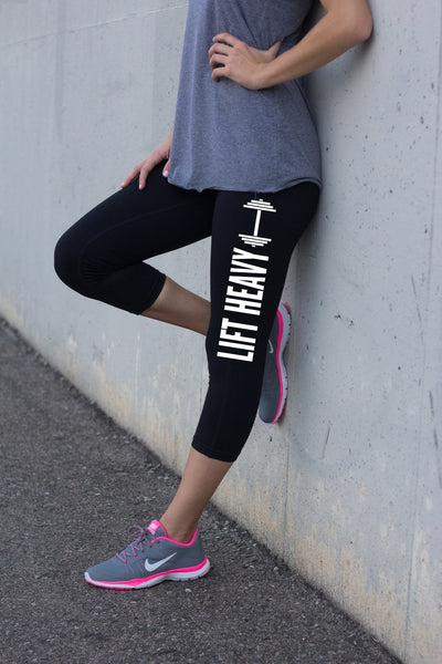 Women's Fitness Legging Lift Heavy