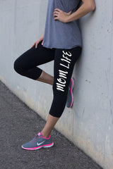 Mom Life Workout Leggings