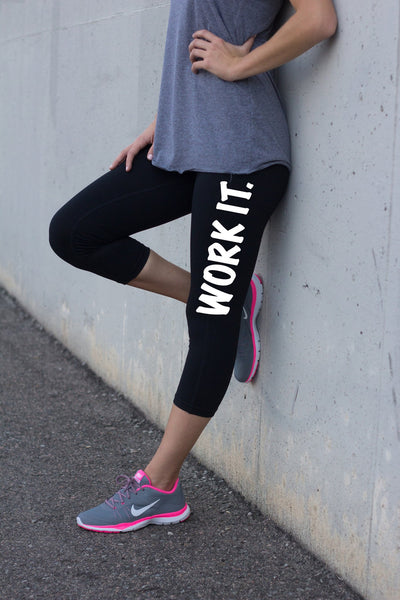 Work It Yoga Pants for Women
