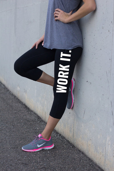 Work It Ladies Training Leggings