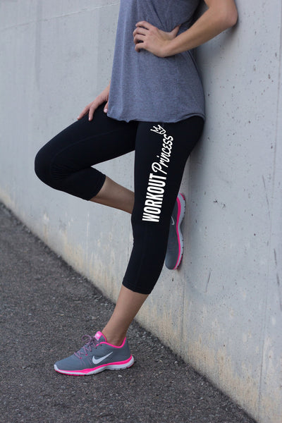 Workout Princess Legging Pants for Women