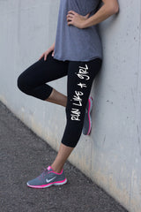 Run Like A Girl Women's Workout Leggings