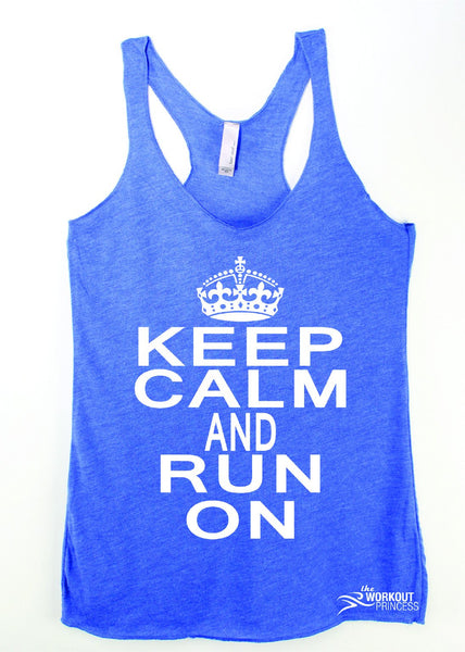 Keep Calm and Run Tank Top
