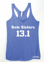 Sole Sisters 13.1 Running Fitness Tank Top , Women's Marathon Tank top