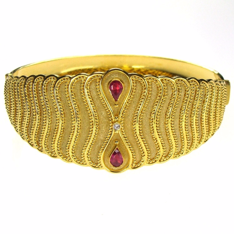 Gold Cuff Bracelets and Bangles