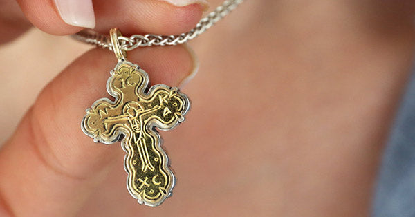 greek cross jewelry, religious jewelry and gifts