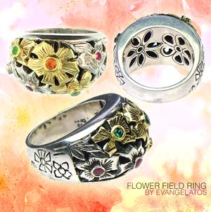 flower field ring