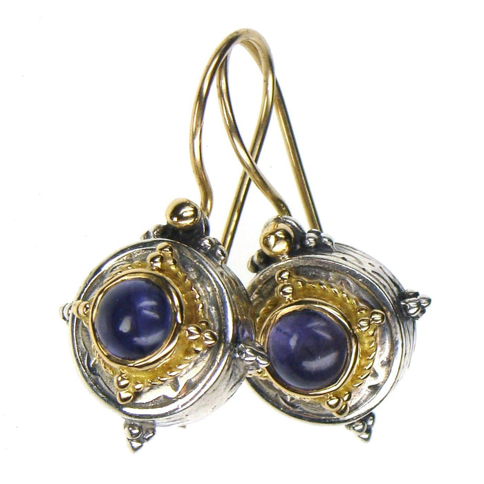 Cyclades Circle Earrings