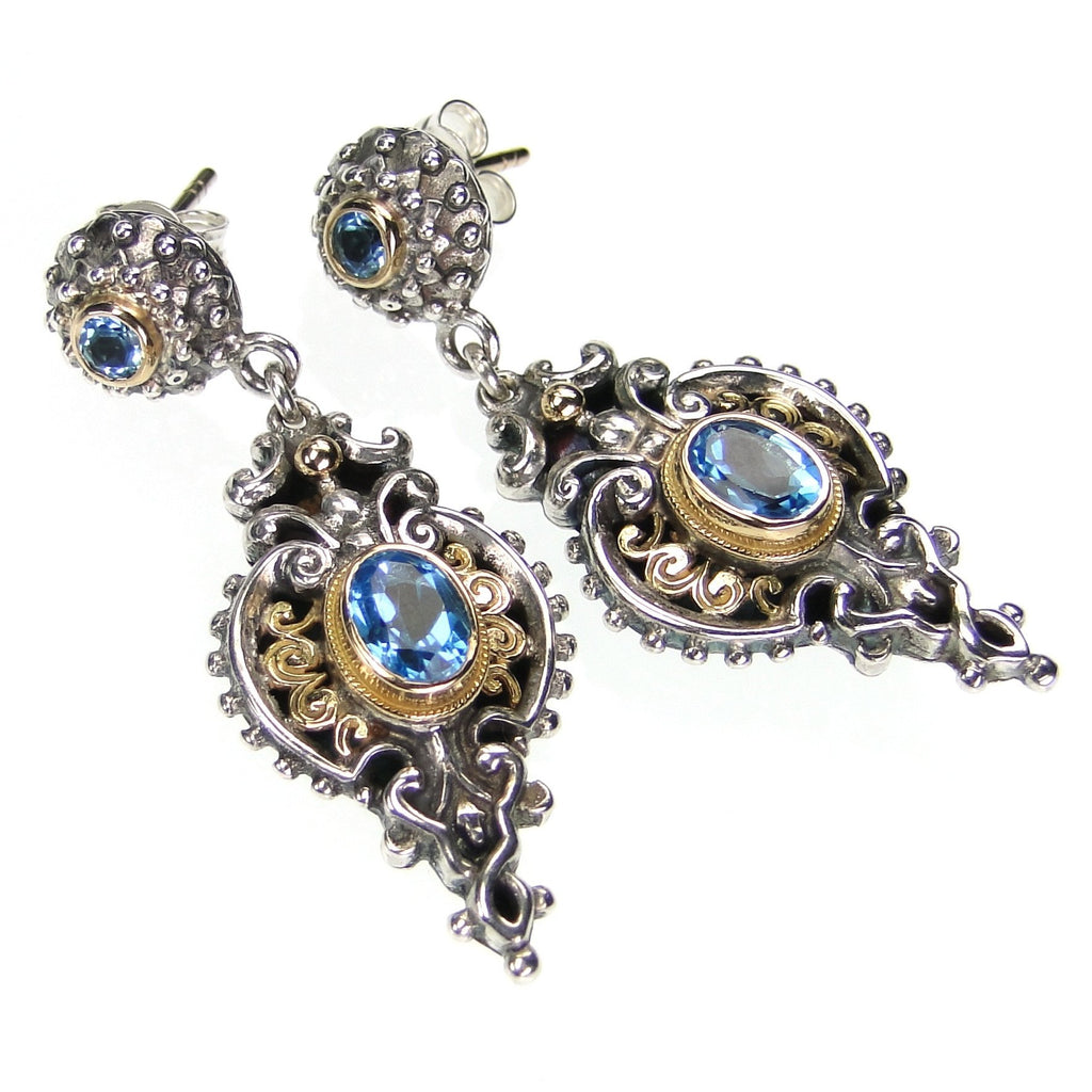 Aegean Drop Earrings