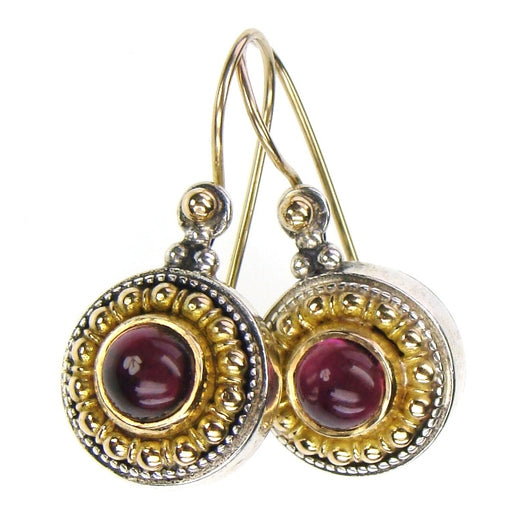 Circle Color Fountain Earrings