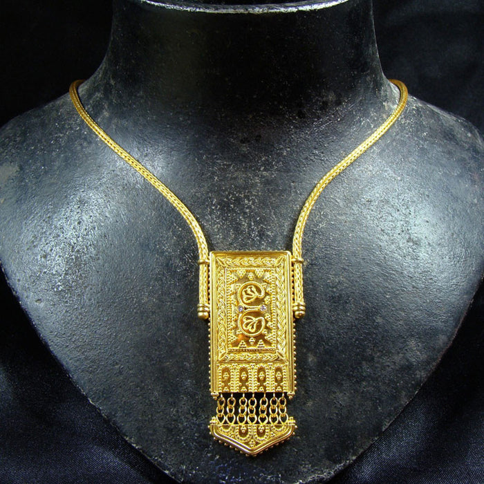 Iraklion Panel Necklace