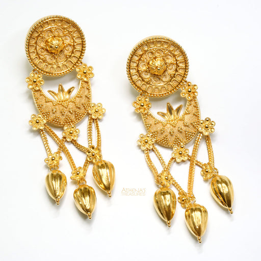 Rosette Museum Earrings