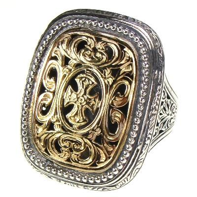 Maltese Cross Garden Shadows Ring