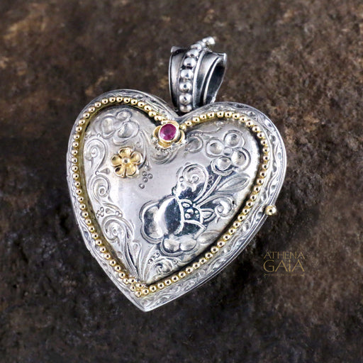 The Gerochristo Heart Locket