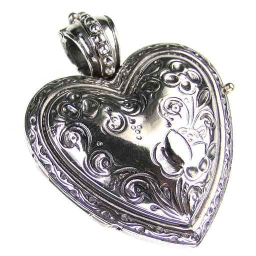 The Silver Heart Locket