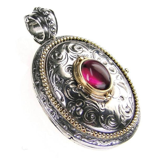 The Oval Stone Locket