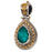 Pop Rocks Synergy Border Teardrop Pendant