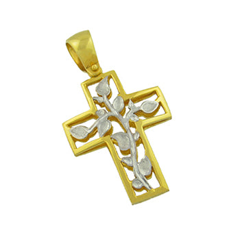Flower Vine Cross