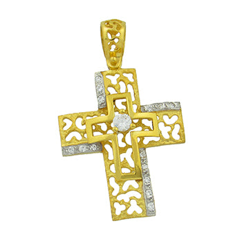 Perforated Cross on Cross