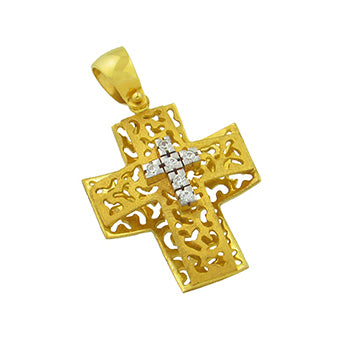 Perforated Triple Cross