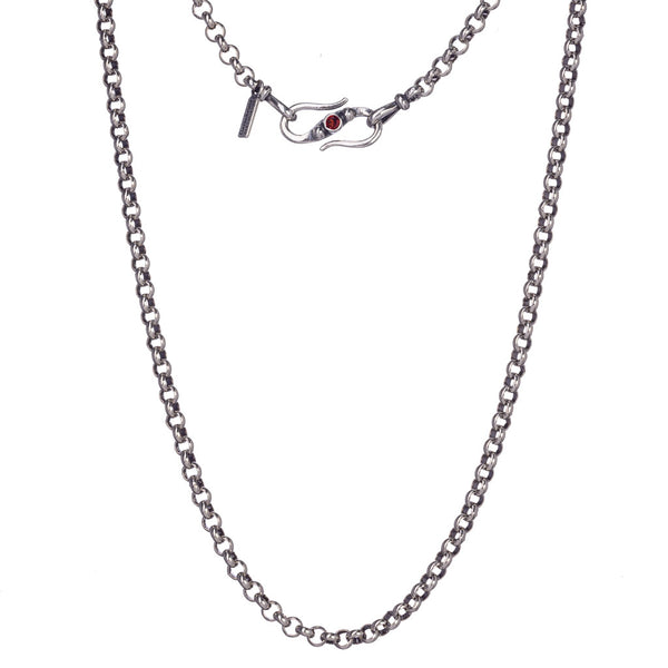 Sterling Silver Rollo Chain
