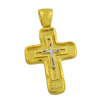 Two-Toned Triple Cross