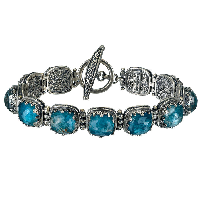 Pop Rocks Small Stone Link Bracelet