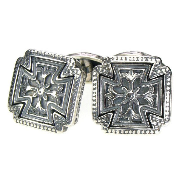 Compact Cross Cufflinks