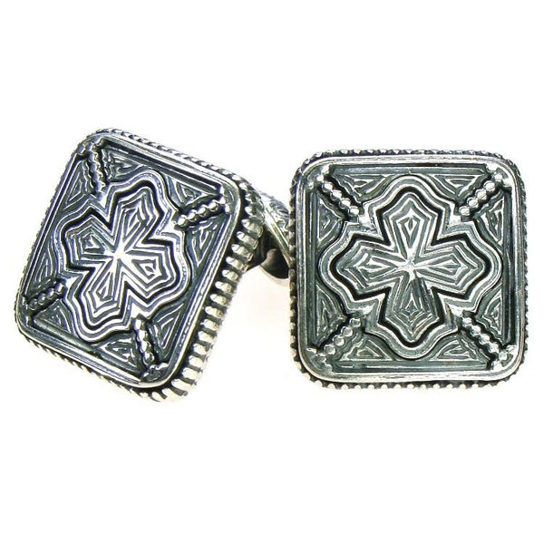 Sheltered Cross Cufflinks