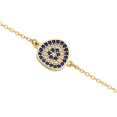 Pebble Matakia Evil Eye Bracelet