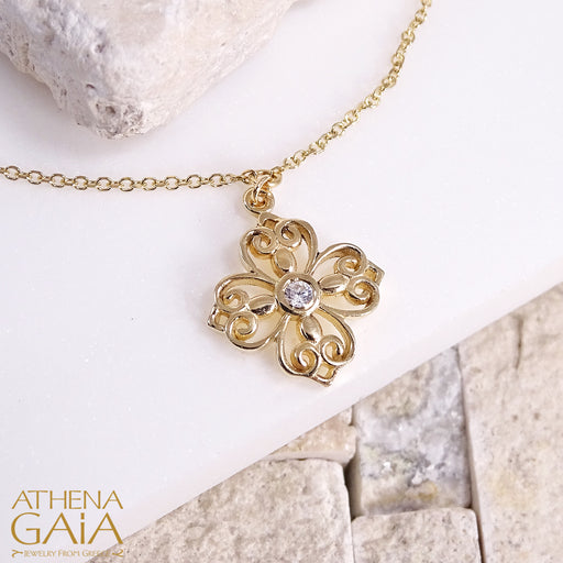 Synergy Flower Necklace